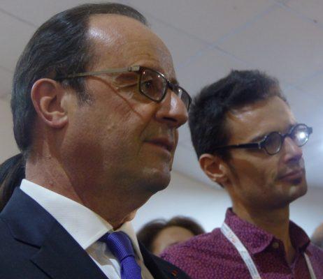 François Hollande répond aux questions des blogueurs de Mondoblog - Antananarivo, le 26 novembre 2016