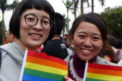 Article : Taipei: la manifestation en faveur du «mariage pour tous» en images